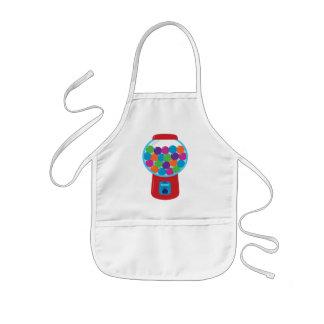 Candy Gumball Machine Kids' Apron