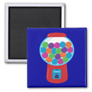 Candy Gumball Machine Magnet