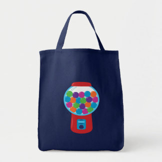 Candy Gumball Machine Tote Bag