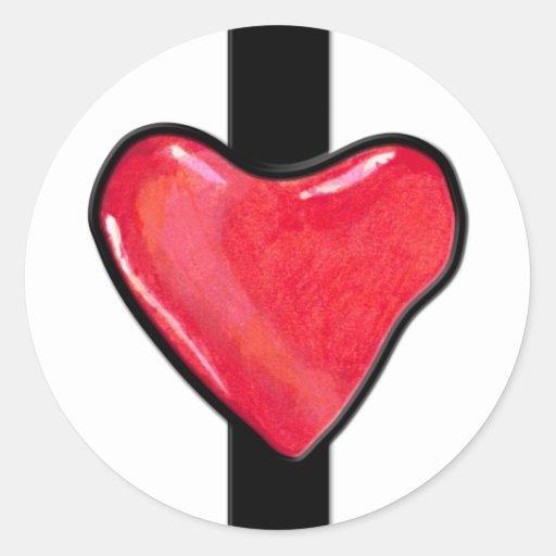 Candy Heart 1 Sticker
