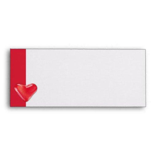 Candy Heart 2 Letterhead Envelope