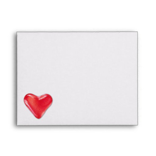 Candy Heart 2 Note Card Envelope