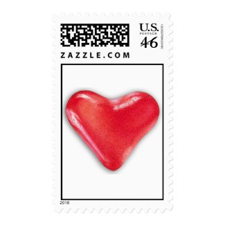 Candy Heart 2 Postage stamp