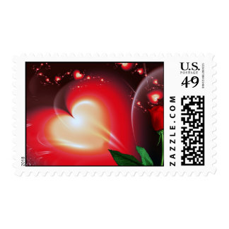 Candy Heart # 2 Postage Stamp