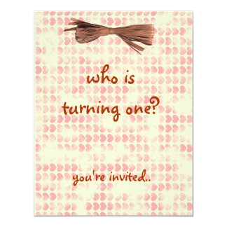 candy heart birthday party card