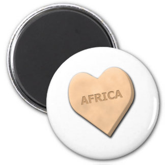 Candy Heart Countries 2 Inch Round Magnet