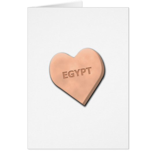 Candy Heart Countries Card