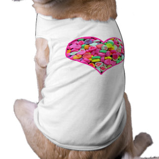 CANDY HEART PET CLOTHES