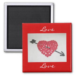 Candy Heart Love Magnet