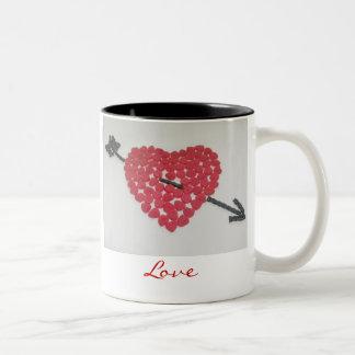 Candy Heart Love Mug