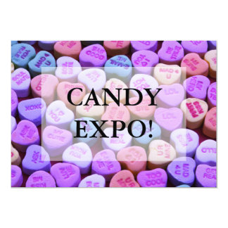 Candy Heart Messages Set Card