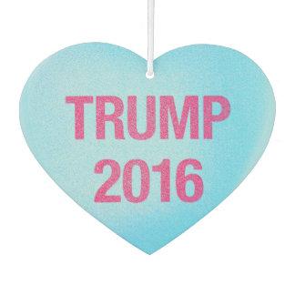 Candy Heart Trump Car Air Freshener