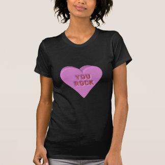 """Candy Heart """"YOU ROCK"""" Shirt"""