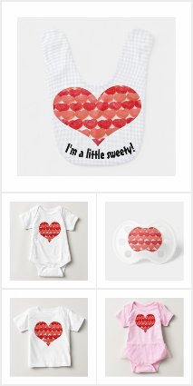 Candy Hearts Baby Collection