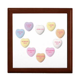 Candy Hearts Bible Verse Gift Box