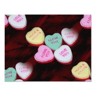 candy hearts card