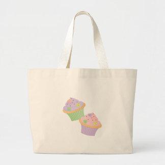 Candy Hearts Cupcakes Jumbo Tote Bag