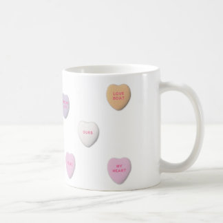 Candy Hearts Expression of Love Mug
