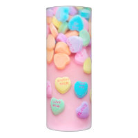 Candy Hearts Flameless Candle