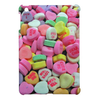 Candy Hearts iPad Mini Cover