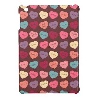 Candy Hearts iPad Mini Case
