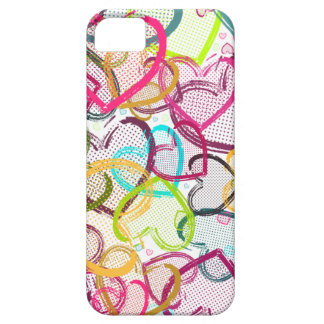 Candy Hearts iPhone SE/5/5s Case