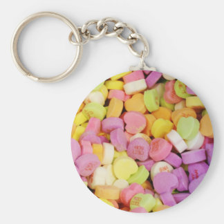 Candy Hearts Keychain