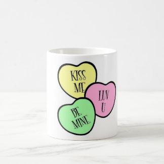 Candy Hearts Mugs