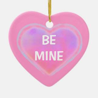 Candy Hearts ornament