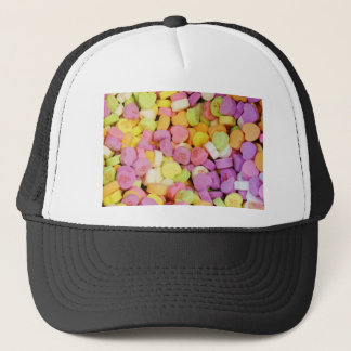 Candy Hearts Trucker Hat