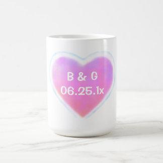 Candy Hearts WEDDING Mug