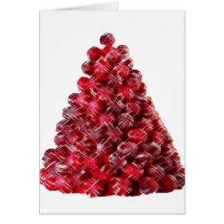 CANDY HOLIDAY TREE CARD