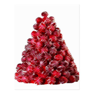 CANDY HOLIDAY TREE POSTCARDS