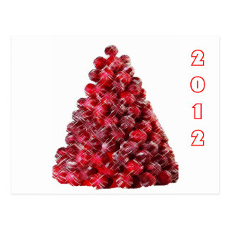CANDY HOLIDAY TREE POST CARDS