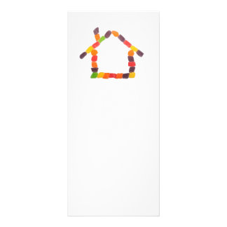 Candy house full color rack card