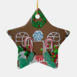 Candy House Star Ornament