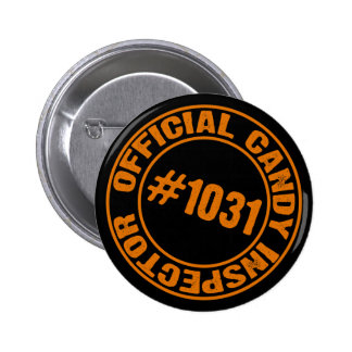 Candy Inspector 2 Inch Round Button