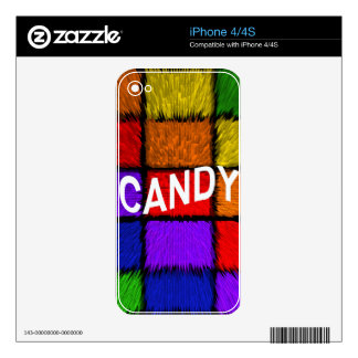CANDY iPhone 4S DECAL