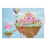 Candy Island Greeting Card