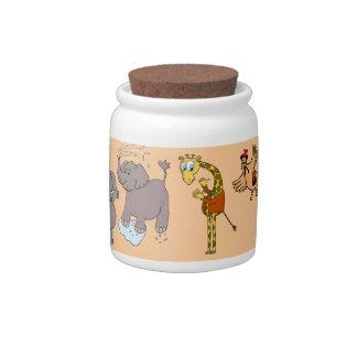 "candy jar ""animals jungle"""