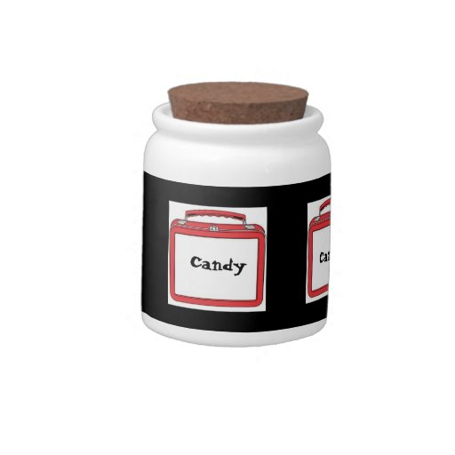 CANDY JAR(CANDY LUNCH BOXES) CANDY JARS