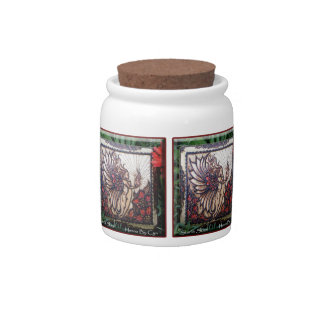 Candy Jar: Henna Fire Fairy by Cynthia McDonald