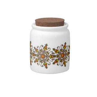 "Candy Jar ""Painted Autumn"" Var01"