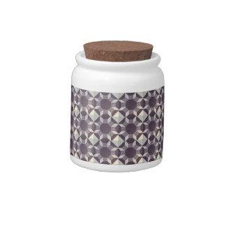 Candy Jar - Purple Quilt Pattern