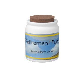 Candy Jar - Retirement Fund