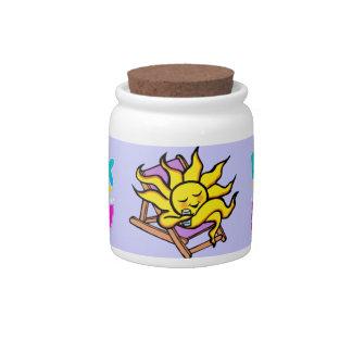 """candy jar """"sunshine drink"""""""
