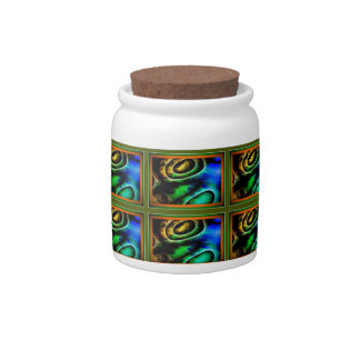 Candy Jar with Design