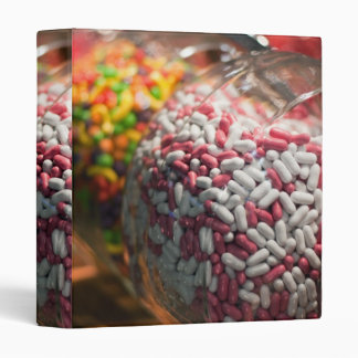 Candy Jars 3 Ring Binder