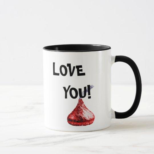 candy kiss mug