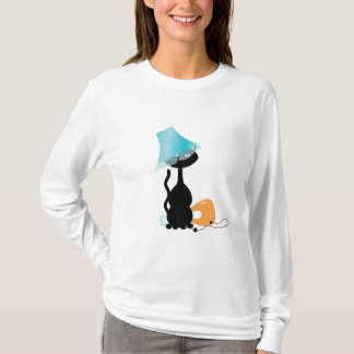 Candy Kitty in T-Shirt